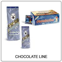 کاکائو و شکلات ها CHOCOLATE LINE